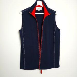 St John Sport by Marie Gray Blue Vest